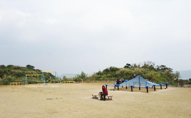 大里城址公園の景色