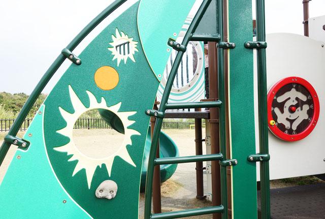 大里城址公園の遊具