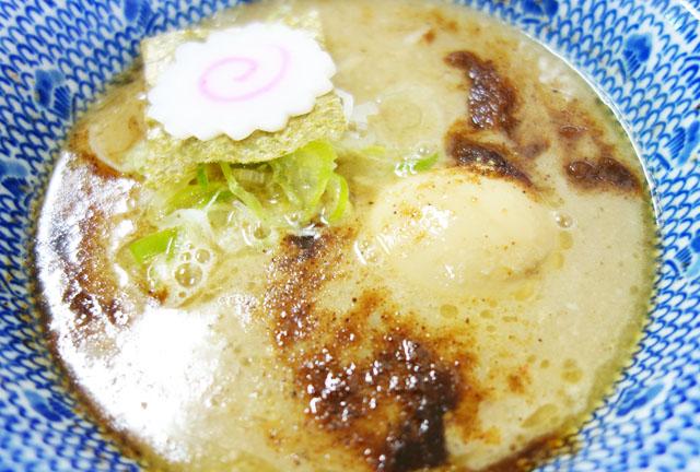 【アクロスプラザ】古島駅前店「三竹寿」で味玉濃厚豚骨魚介つけ麺を食べたよ