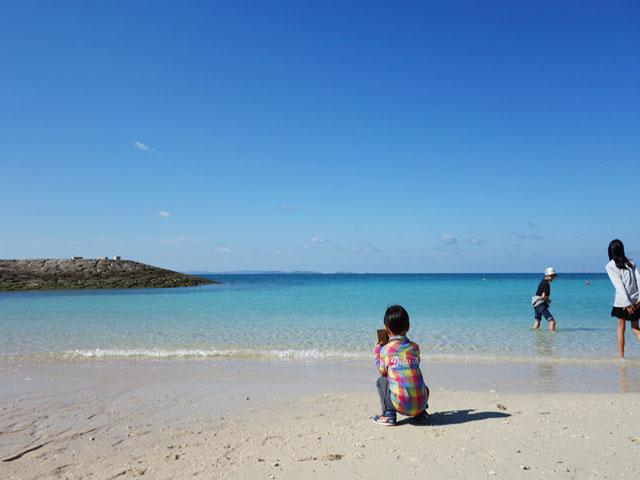 豊崎海浜公園・美らSUNビーチで最後まで沖縄を満喫。那覇空港から近い!