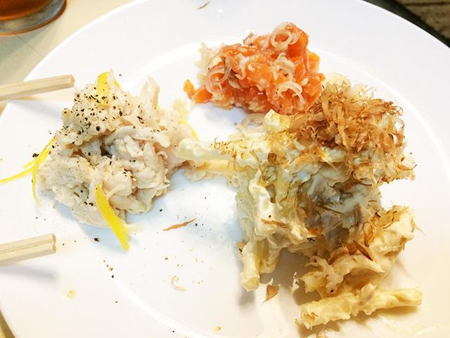 那覇牧志シナーダの料理