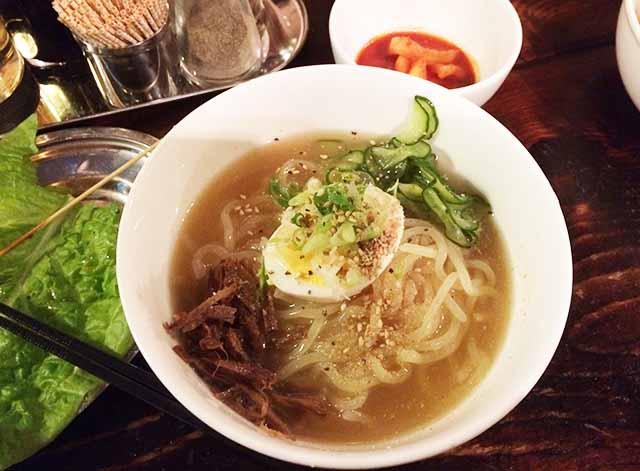 那覇・牧志の『ちるり(Chillri)』の盛岡冷麺は〆にぴったり!牛旨味がすごい!早くもう1回食べたい