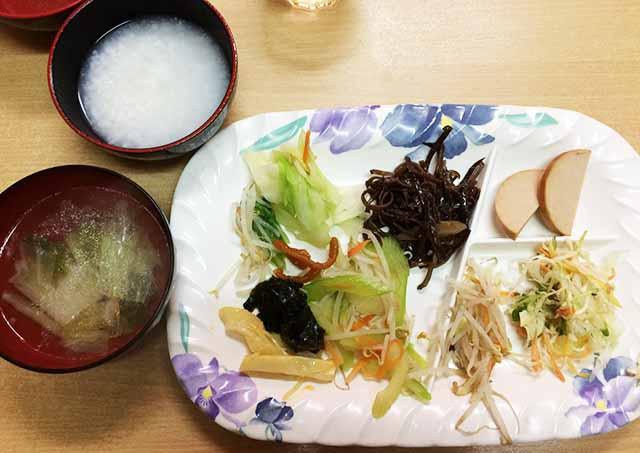 金壺食堂の精進料理