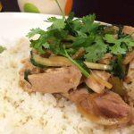 那覇・曙のタイ料理「柔(やわら)カオマンガイ」でカオマンガイを食べた!夜も行ってみたいな〜
