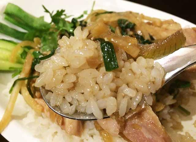 曙の柔カオマンガイのお米