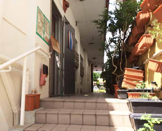 曙の柔カオマンガイの入り口