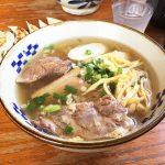 子連れおすすめ「東江そば 浦添本店」でモチプリ麺の沖縄そばを食べてきました!通販もやってるよ