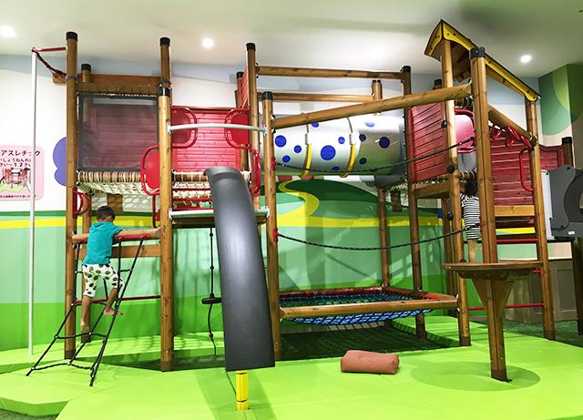 サンエー浦添パルコシティあそびパークの遊具