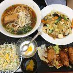 那覇・国場の中華料理「福楽」でガッツリ飯!座敷あり♪お子様メニューもあるよ