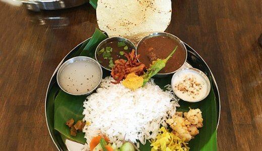那覇・松尾の南インド料理「マリアラム (Malayalam) 」でカレー定食「ミールス」を食べてきた