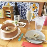 那覇・栄町の「ムジルシ」お酒とシューマイを楽しめるおしゃれなお店